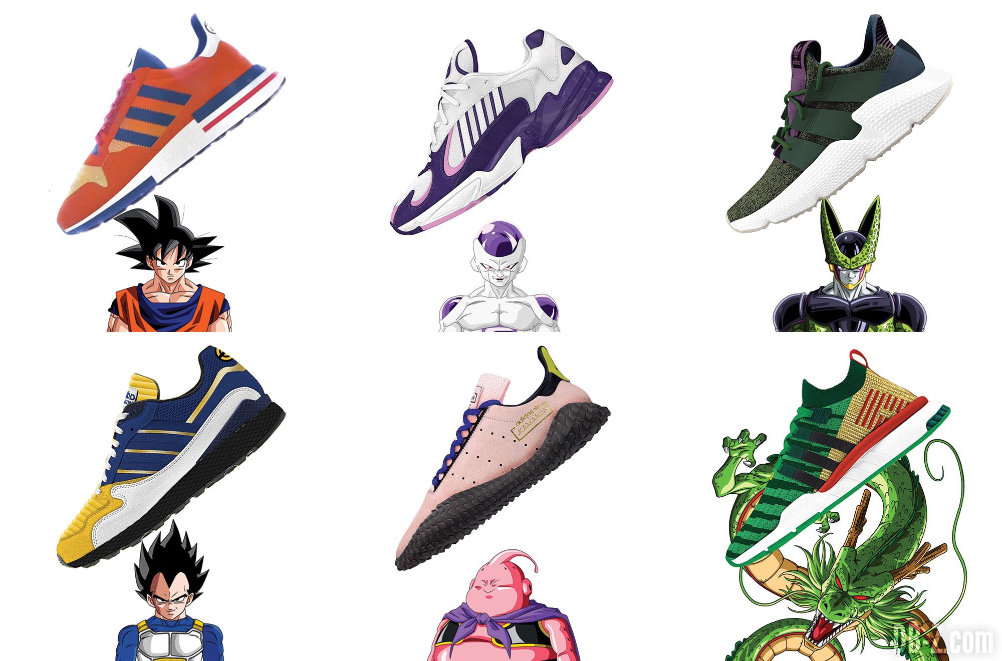 chaussures dragon ball adidas