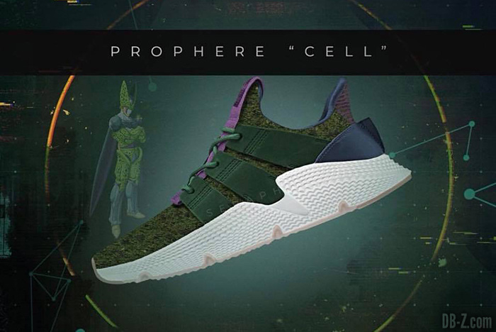 premium selection e26bf d5490 Dragon Ball x Adidas Prophere Cell ...