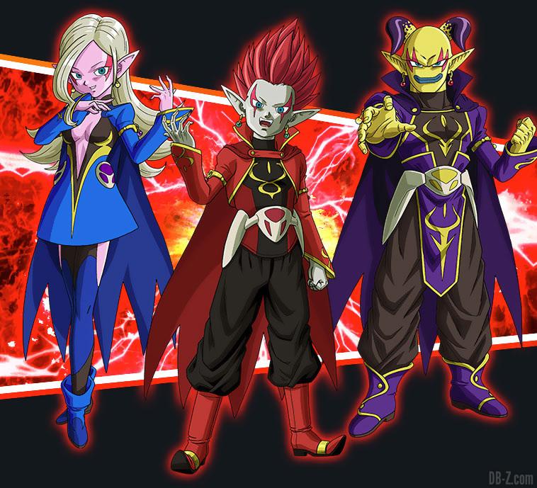 Super Dragon Ball Heroes Universe Mission (UM1) : Le Rang