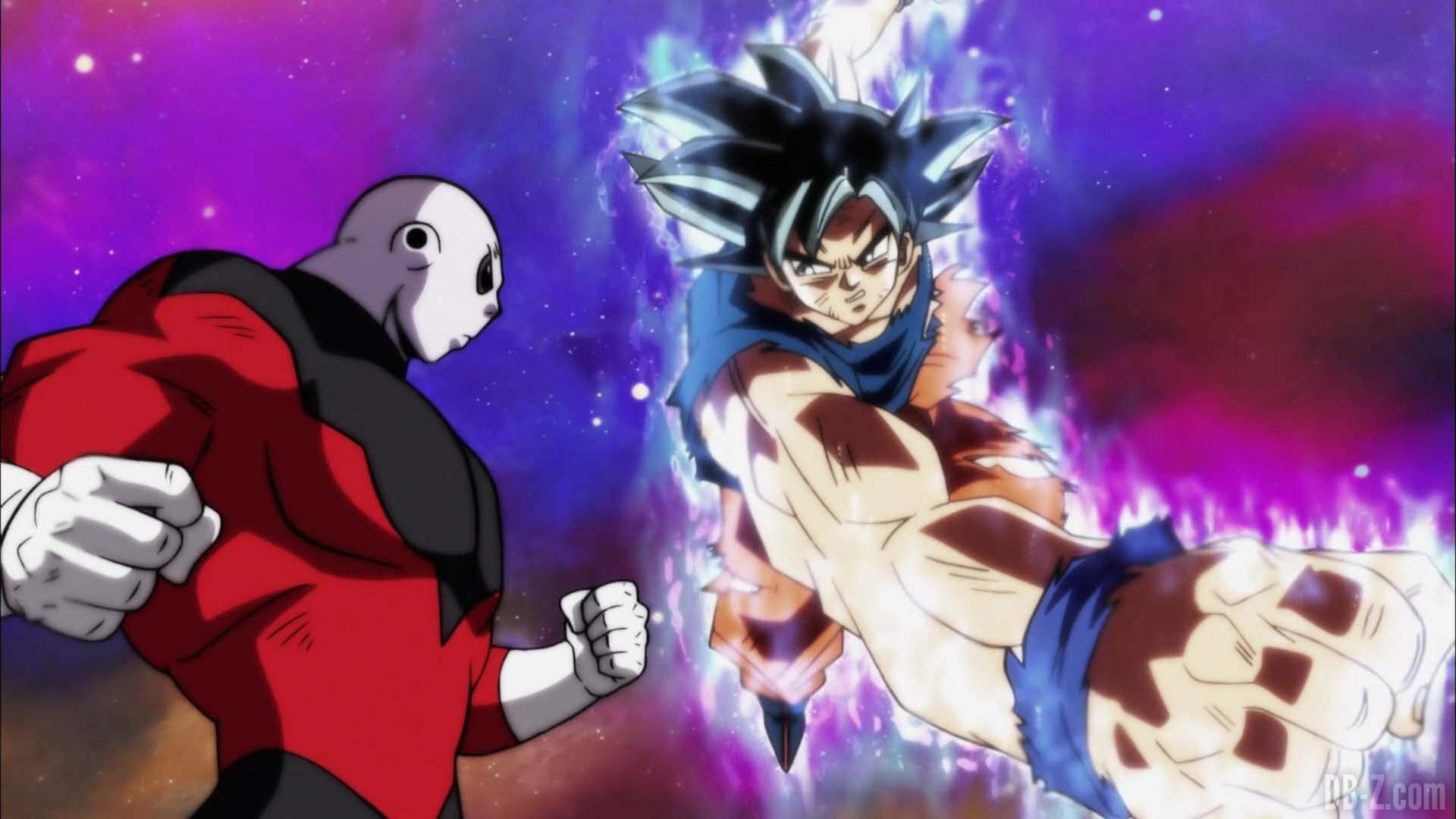 Dragon Ball Super Episode 129 00025 Goku Ultra Instinct Jiren