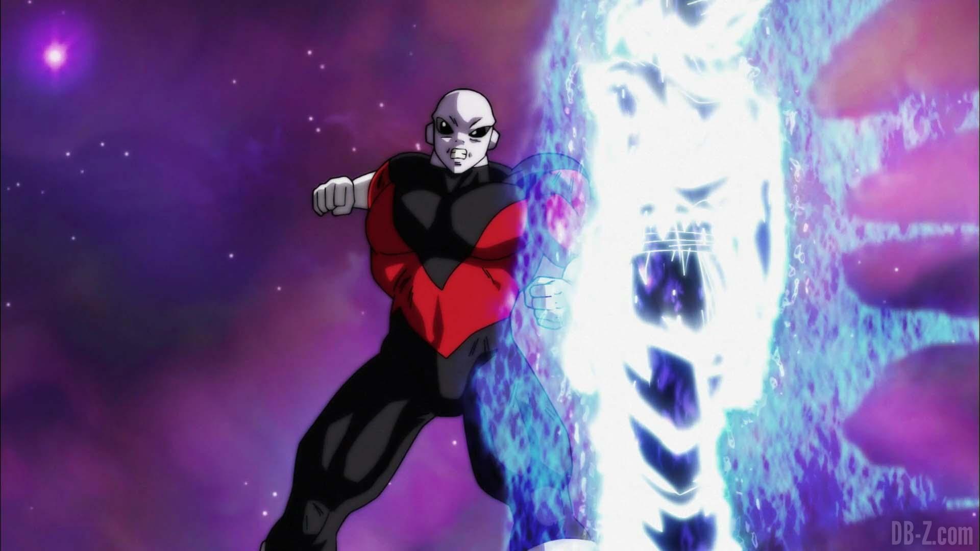 Trận đấu giữa Jiren và Goku khi hoàn thiện Bản Năng Vô Cực ( Ultra Instinct ) tiếp tục bắt đầu và Goku chiếm thế áp đảo trước Jiren .