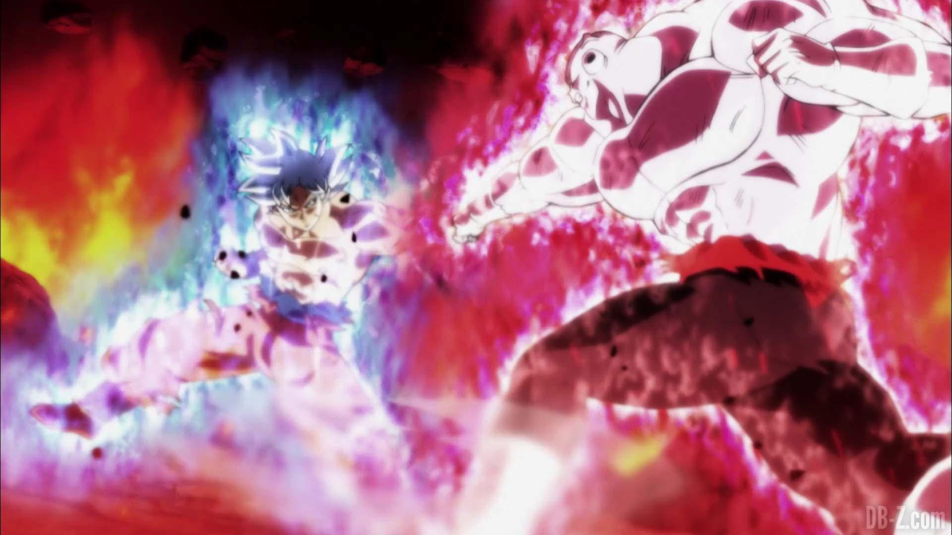 Goku Ultra Instinct vs Jiren (Dragon Ball Super)