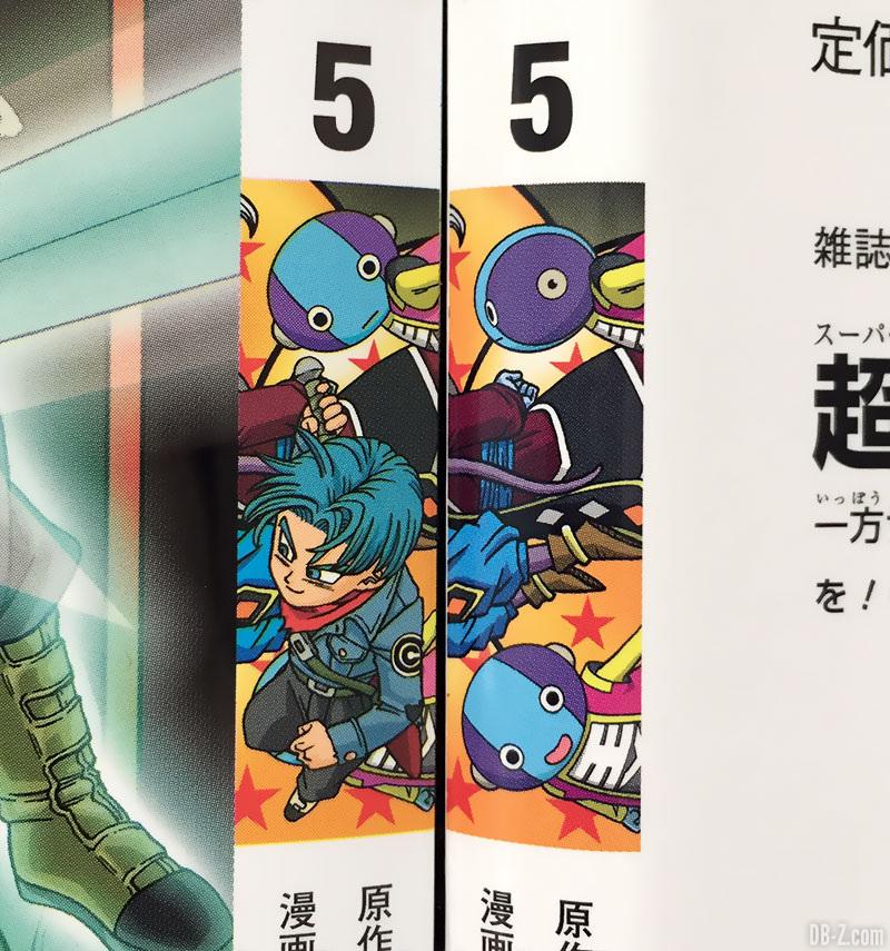 Les 2 fresques du tome 5 de Dragon Ball Super
