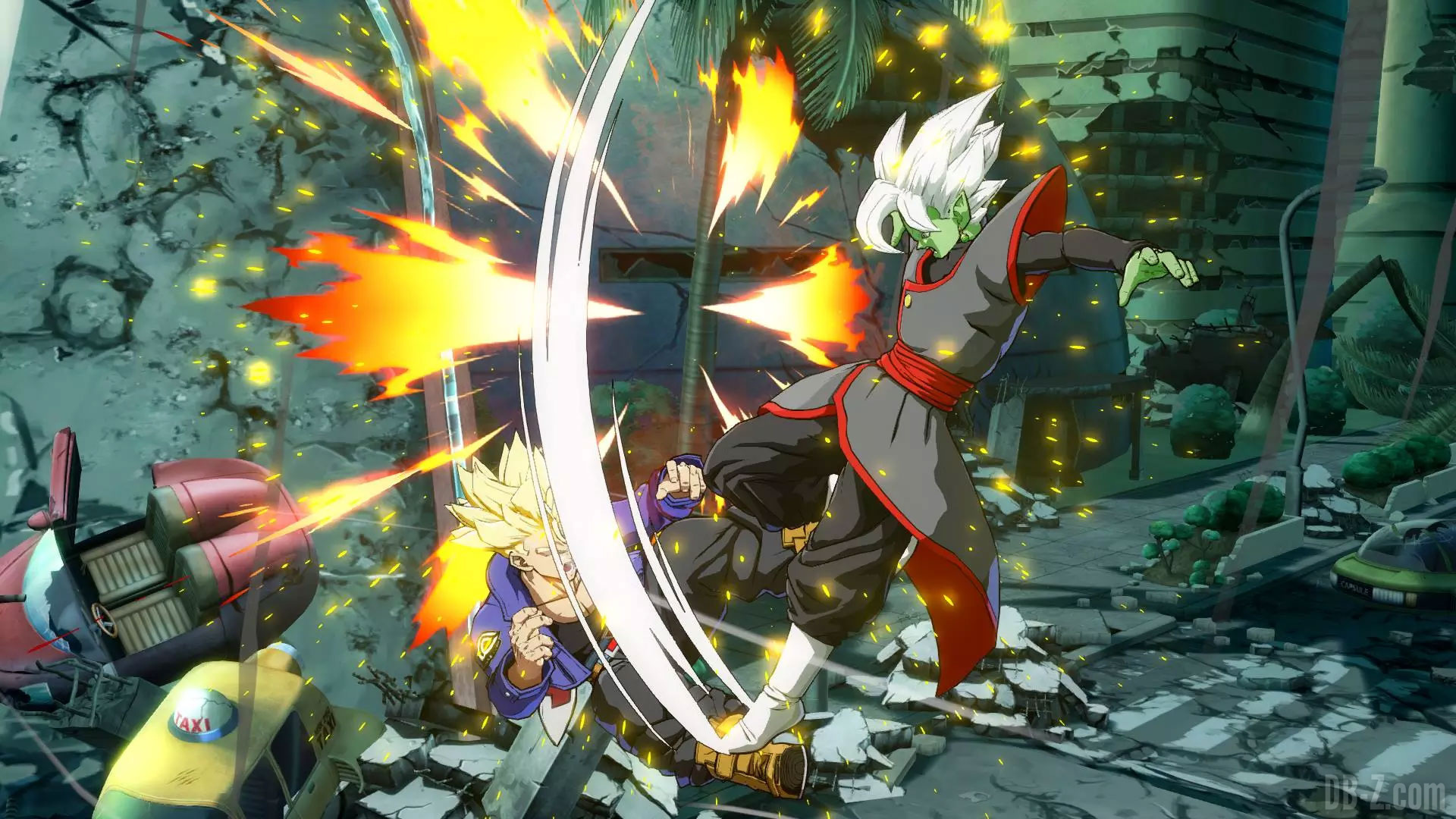 Dragon Ball Fighterz Encore Des Images De Zamasu Fusionné