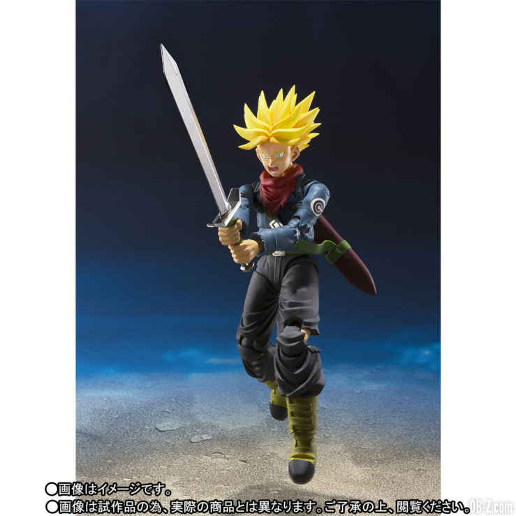 S.H.Figuarts Trunks DBS