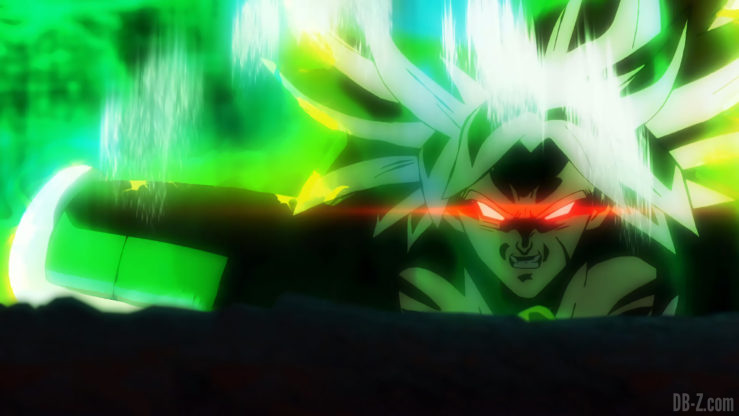 Broly se transforme en Super Saiyan Légendaire - Film Dragon Ball Super