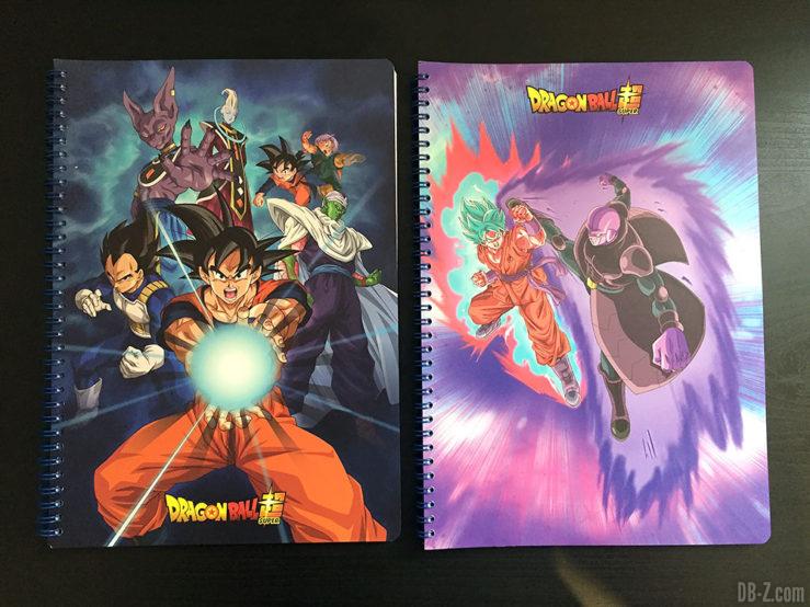 Cahier A4 100 pages - 4 visuels assortis - Dragon Ball Super 2