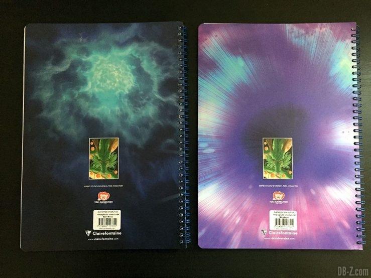 Cahier A4 100 pages - 4 visuels assortis - Dragon Ball Super 3