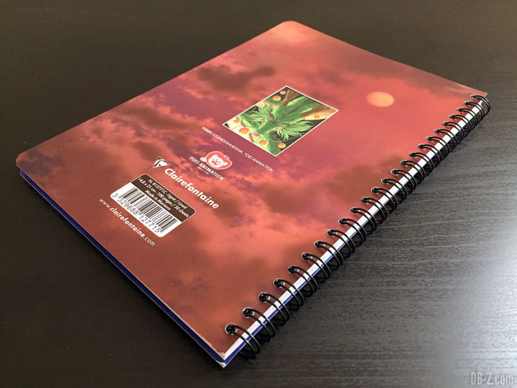 Cahier A5 100 pages - 4 visuels assortis - Dragon Ball Super 3