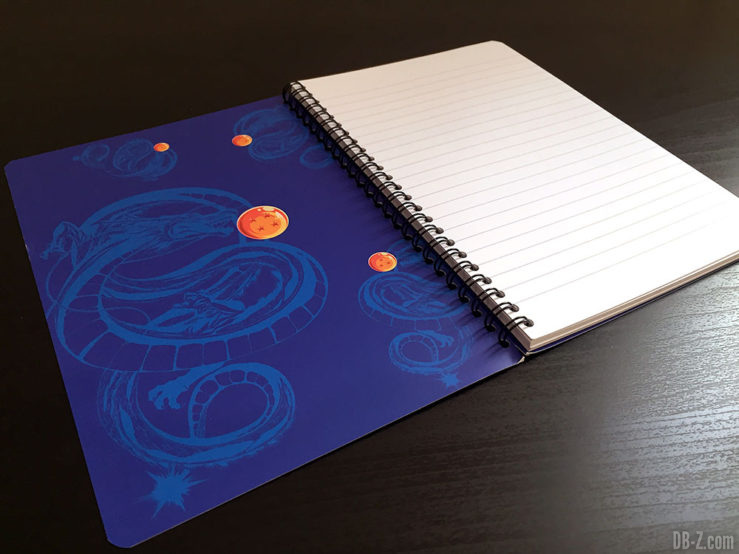 Cahier A5 100 pages - 4 visuels assortis - Dragon Ball Super 4