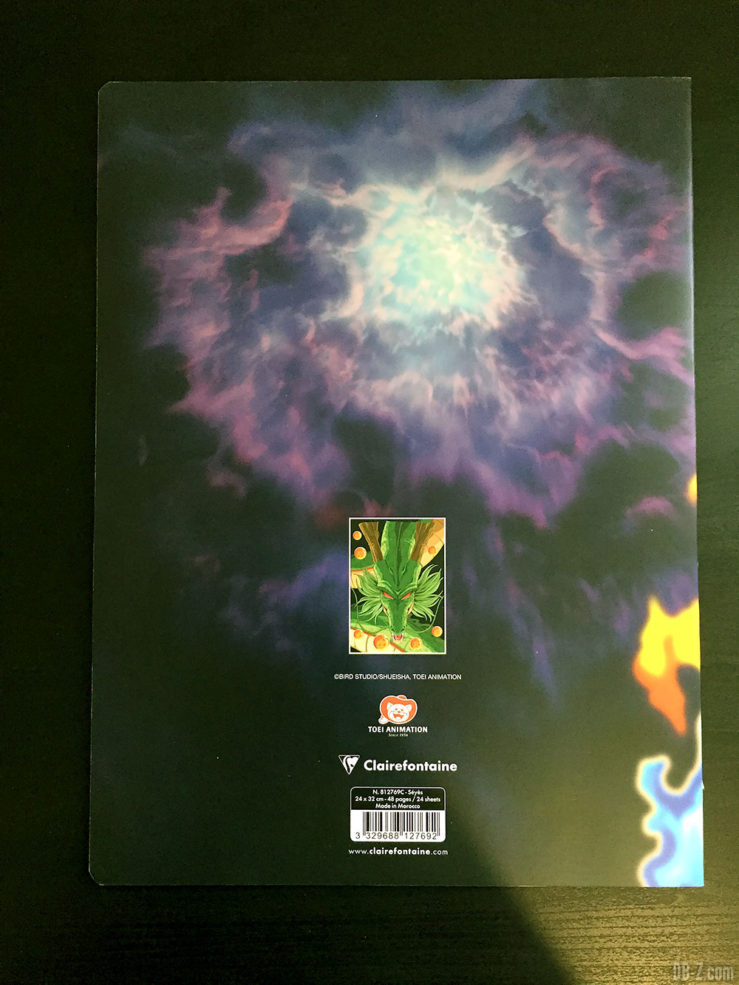 Cahier piqué 24 x 32 96 pages - 4 visuels assortis - Dragon Ball Super 1