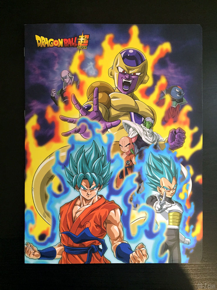 Cahier piqué 24 x 32 96 pages - 4 visuels assortis - Dragon Ball Super
