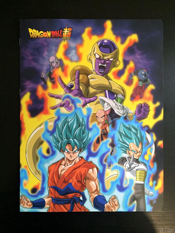 Cahier piqué 24 x 32 96 pages - 4 visuels assortis - Dragon Ball Super