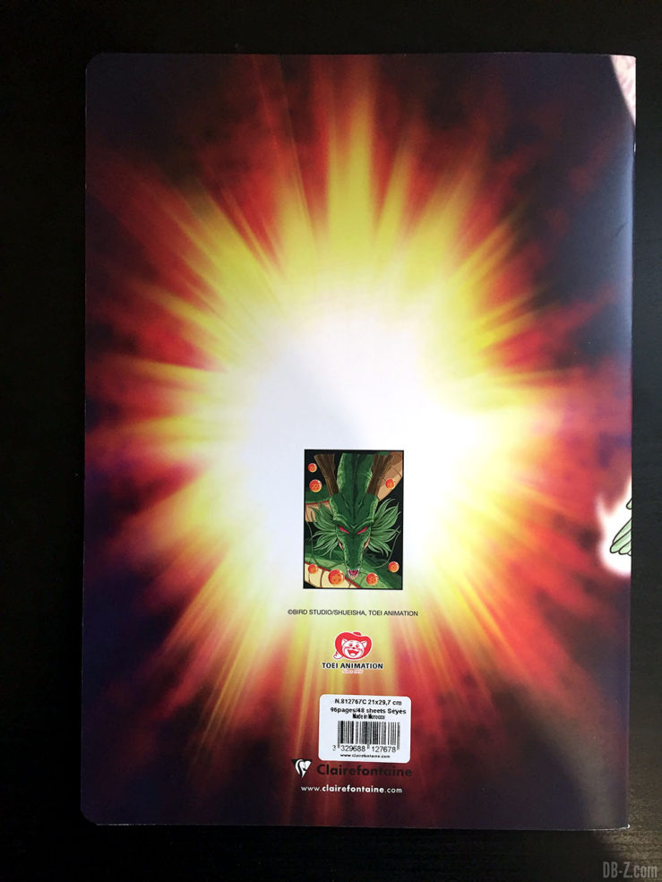 Cahier piqué A4 96 pages - 4 visuels assortis - Dragon Ball Super 8