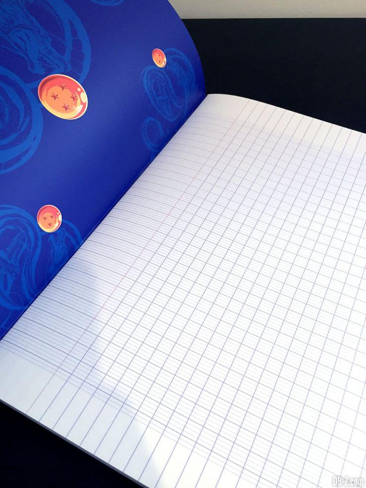 Cahier piqué A4 96 pages - 4 visuels assortis - Dragon Ball Super 9