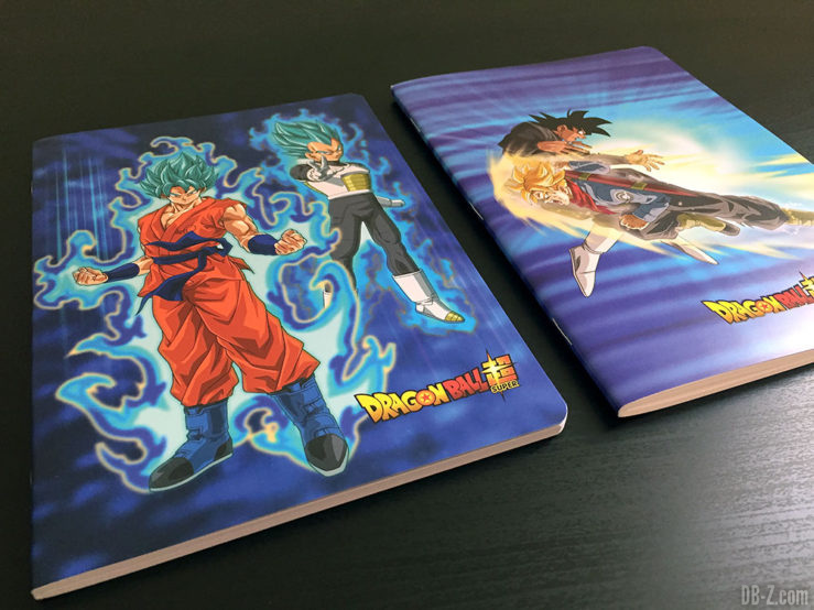 Cahier piqué A5 96p L, 3 visuels assortis - Dragon Ball Super 1