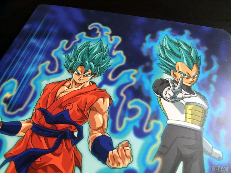Cahier piqué A5 96p L, 3 visuels assortis - Dragon Ball Super 10