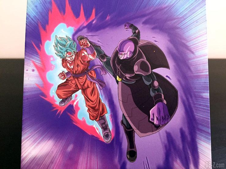 Carnet piqué 11x17cm 96p L +él, 4 visuels assortis - Dragon Ball Super (Goku Blue vs Hit)