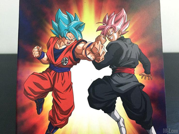 Carnet piqué 11x17cm 96p L +él, 4 visuels assortis - Dragon Ball Super (Goku Black vs Goku Blue)