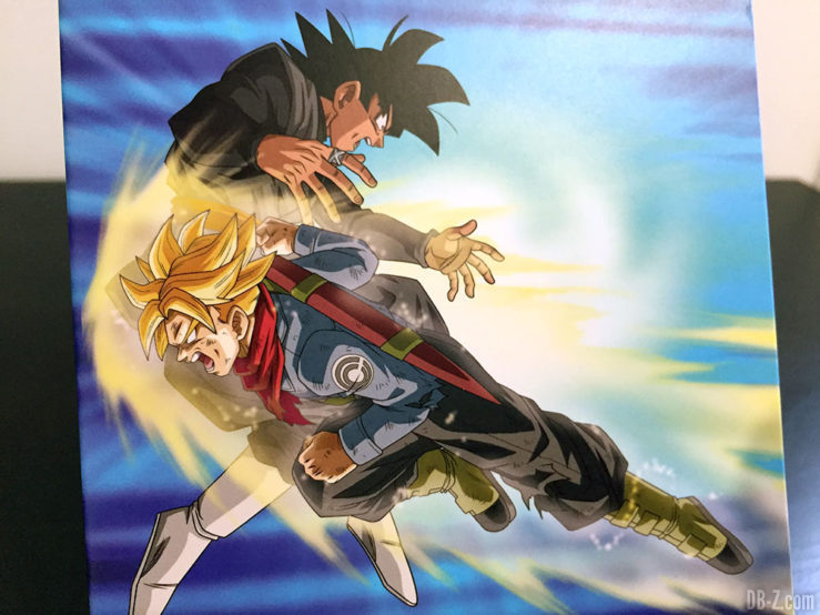 Carnet piqué 11x17cm 96p L +él, 4 visuels assortis - Dragon Ball Super (Goku Black vs Trunks)