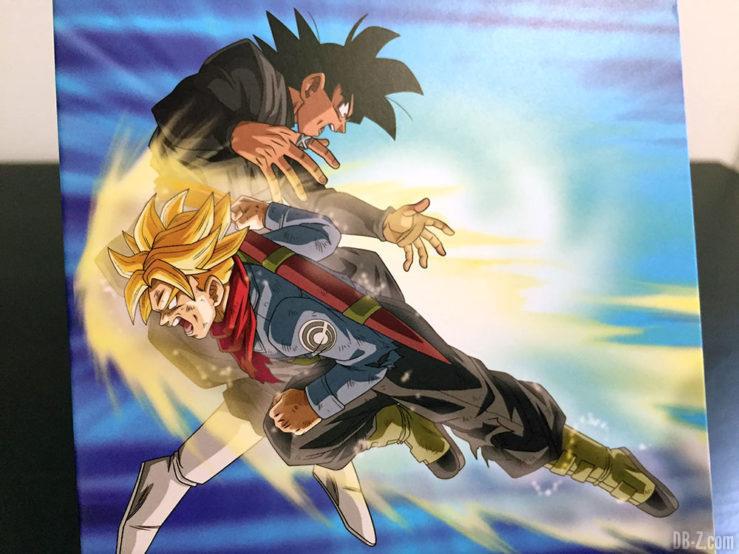 Carnet piqué 11x17cm 96p L +él, 4 visuels assortis - Dragon Ball Super (Goku Black vs Trunks)