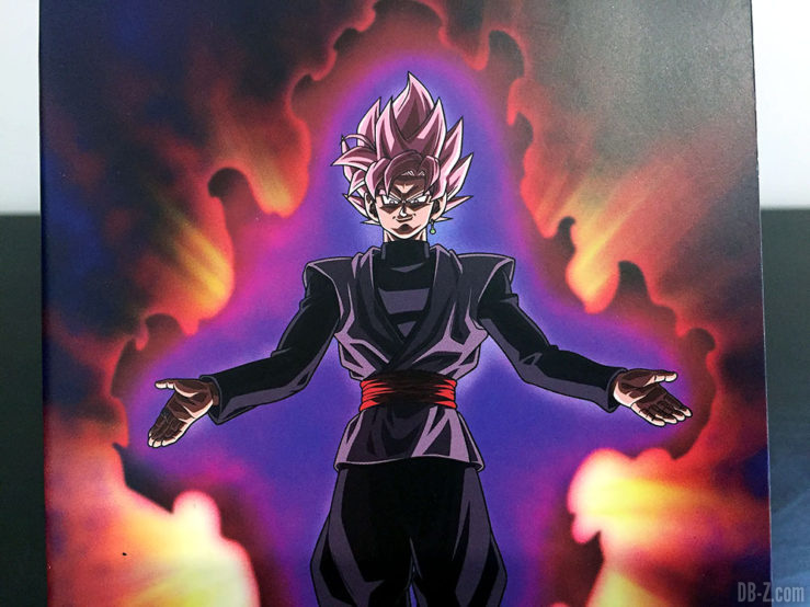 Carnet piqué 11x17cm 96p L +él, 4 visuels assortis - Dragon Ball Super (Goku Black Rosé)