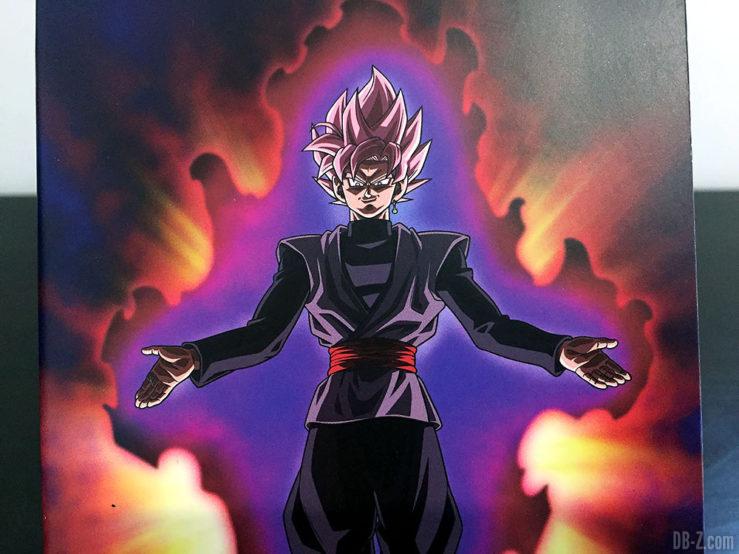 Carnet piqué 11x17cm 96p L +él, 4 visuels assortis - Dragon Ball Super (Goku Black Rosé)