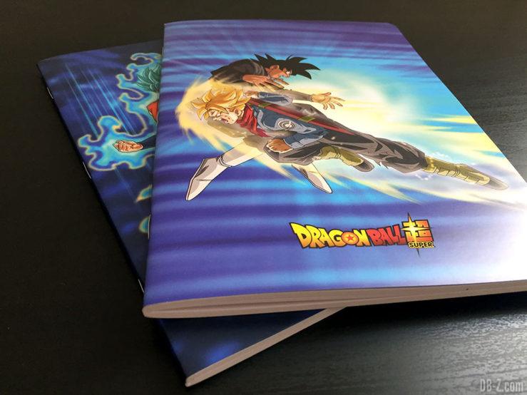 Cahier piqué A5 96p L, 3 visuels assortis - Dragon Ball Super 2