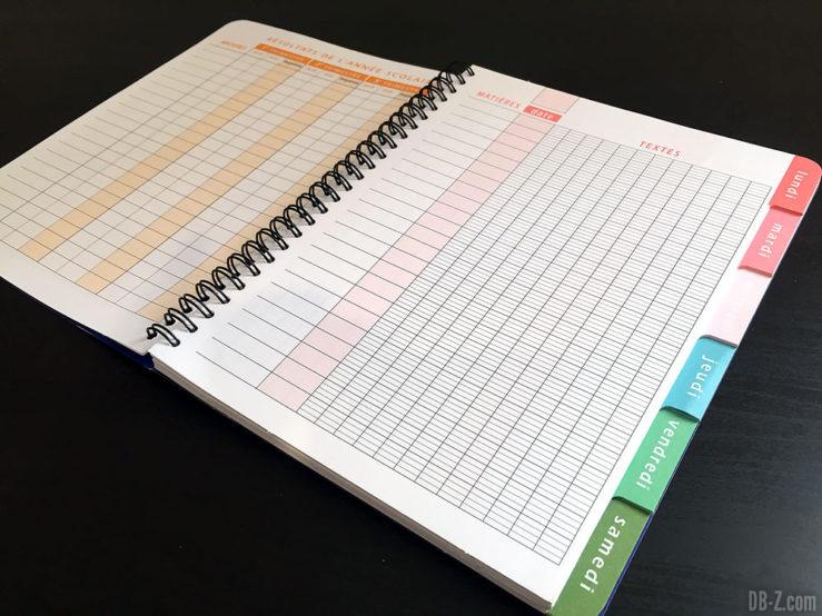 Cahier textes RI 17 x 22cm 152 pages Dragon Ball Super 3