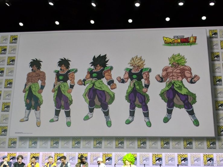 Charadesign Broly Film Dragon Ball Super