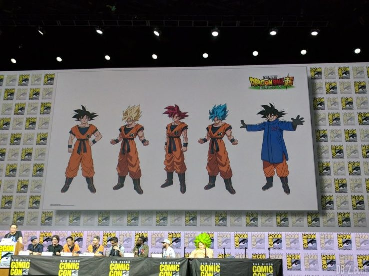 Charadesign Goku Film Dragon Ball Super