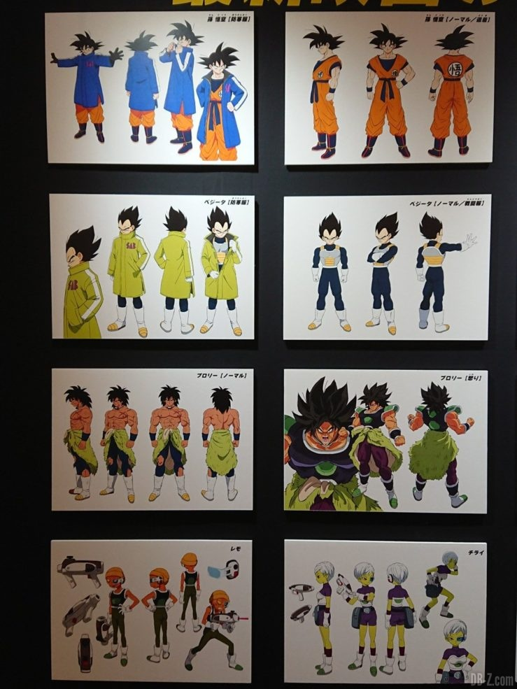 Charadesigns Film Dragon Ball Super Broly (1)