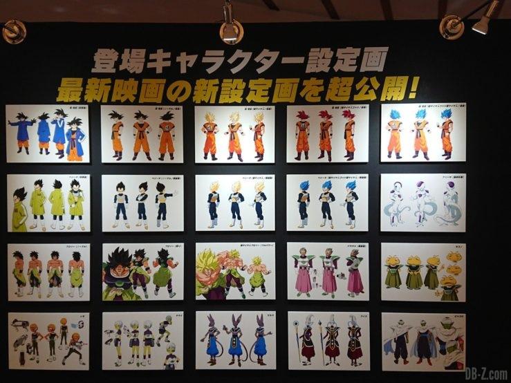 Charadesigns Film Dragon Ball Super Broly