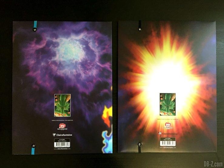 Chemise à élastique+ 3 rabats, 2 visuels assortis - Dragon Ball Super 10
