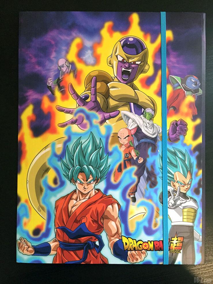 Chemise à élastique+ 3 rabats, 2 visuels assortis - Dragon Ball Super 3