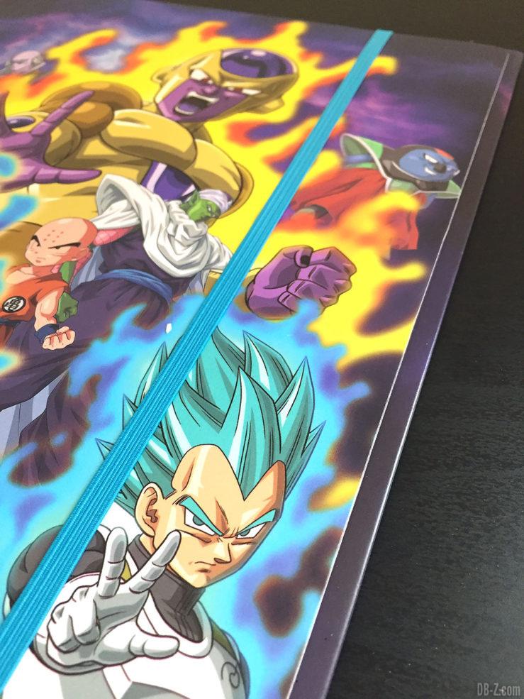 Chemise à élastique+ 3 rabats, 2 visuels assortis - Dragon Ball Super 5