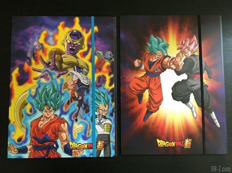 Chemise à élastique+ 3 rabats, 2 visuels assortis - Dragon Ball Super
