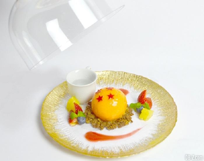 Dessert Dragon Ball - Dôme glacé à 4 étoiles (1400 yen / 10 €)