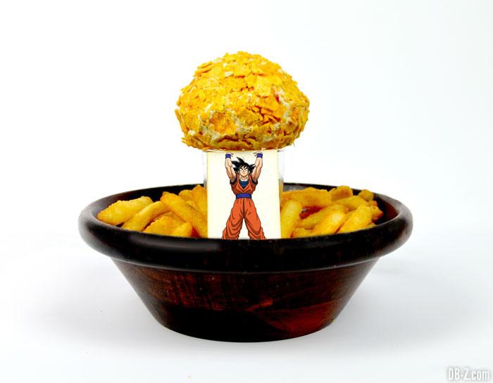 Les amis !!! Donnez-moi votre énergie ! Genkidama de potatoes (750 yen / 6 €)