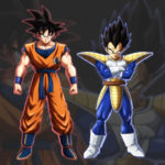Dragon Ball FighterZ Goku Vegeta non transformes