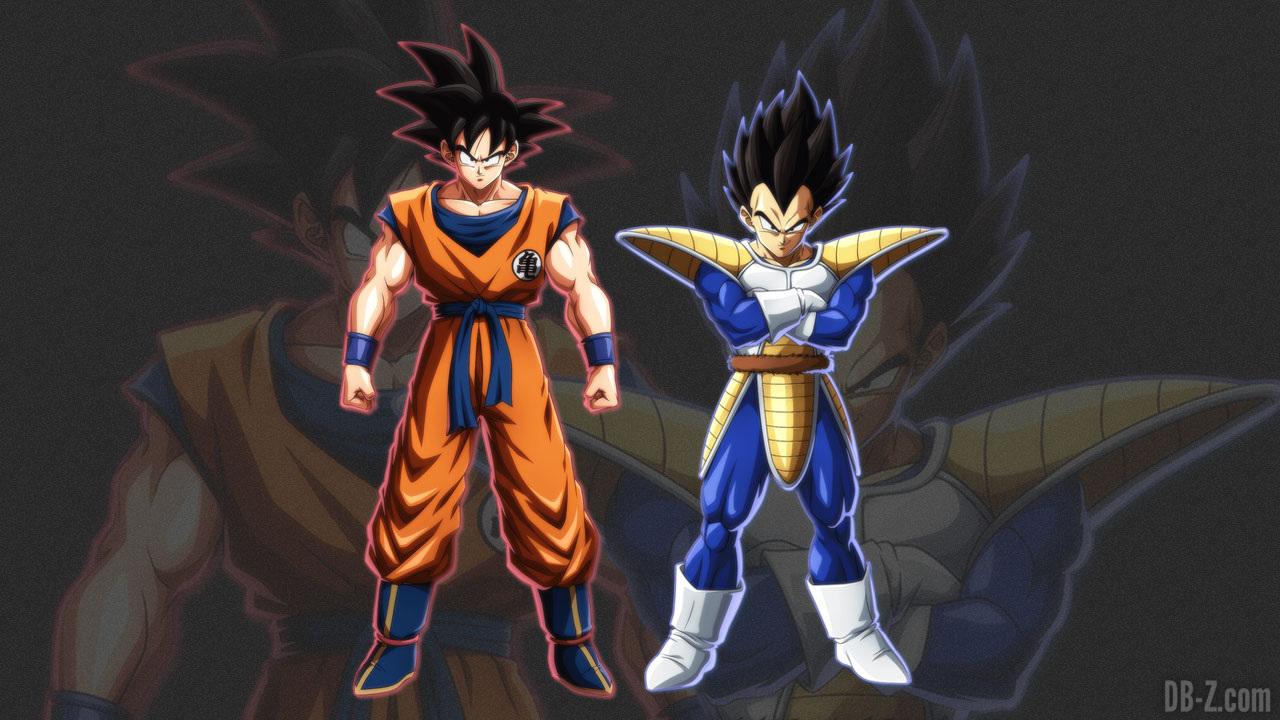 Dragon Ball Fighterz Les Couleurs Et Stats De Goku Et Vegeta Non Transformes