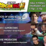 Dragon Ball Super Broly Comic Con 2018