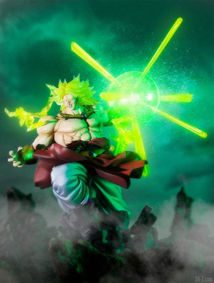 Figuarts ZERO Super Saiyan BROLY - Attaque ardente