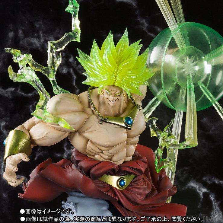 Figuarts ZERO Super Saiyan BROLY - Torse