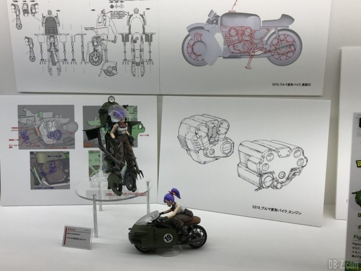 Figure-Rise Mechanics moto transformable de Bulma n°19 (plans)