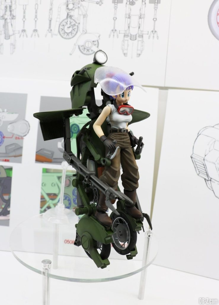 Figure-Rise Mechanics moto transformable de Bulma n°19