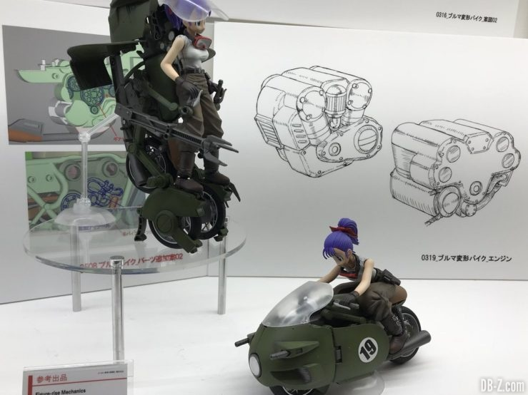 Figure-Rise Mechanics moto transformable de Bulma n°19