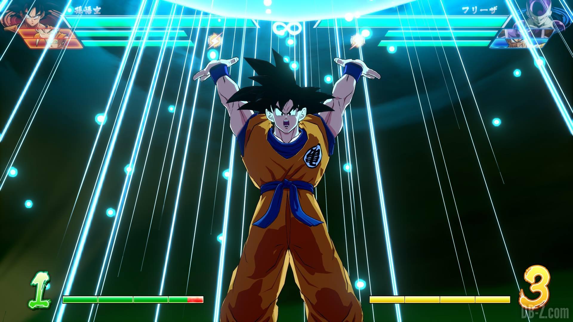 Dragon Ball Fighterz Les Couleurs Et Stats De Goku Et Vegeta Non