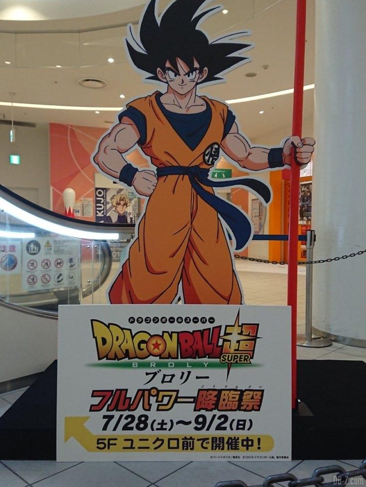 Panneau de Goku