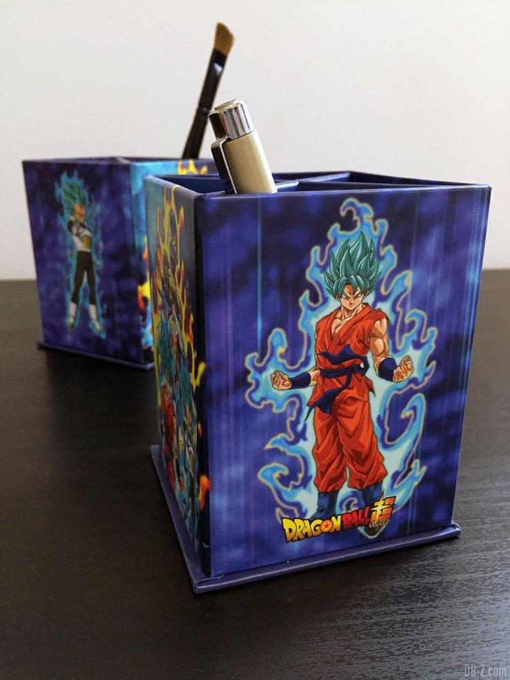 Pot à crayon rect.8x8x11,5cm , Resurrection - Dragon Ball Super 5